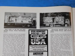 Bandwagon 1987 January February Circus Magazine Elephant in America before 1840