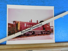 Photo Rock Island Railroad Locomotive #926 8 X 10 Color Fort Worth TX 1973