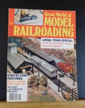 Great World of Model Railroading 1980 Spring build a frameless tank car Lionel