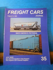 Freight Cars Journal #35 NACC GERSCO ATSF NS CSX