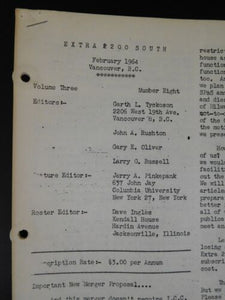 Extra 2200 South 1964 February V3#8 Canadian Diesel Roster-Types PRR pt 2