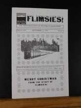 Flimsies West Issue #199 December 15, 1995 News Magazine of Western Railroading