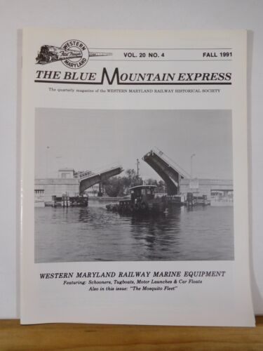 Blue Mountain Express 1991 Fall Western Maryland Railway Historical Sociery