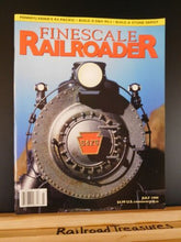 Finescale Railroader 1999 July Bridge trickery Shay conversion D&H RS-3U