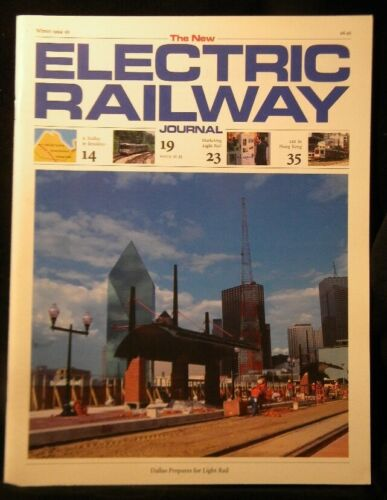 New Electric Railway Journal 1994-1995 Winter Dallas Light Rail Brooklyn trolley