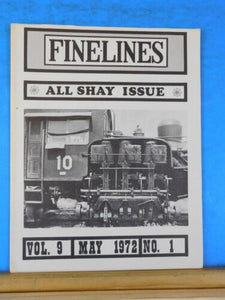Finelines 1/4' scale Fine Lines Magazine 1972 May