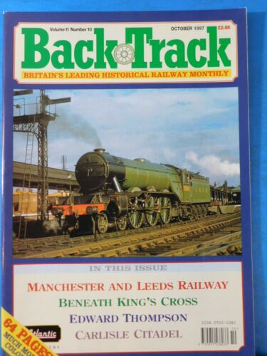 Back Track Magazine 1997 October Britain Railway History Manchester & Leeds RY