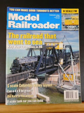 Model Railroader Magazine 2001 February Raaailroad that went to sea Key West ext