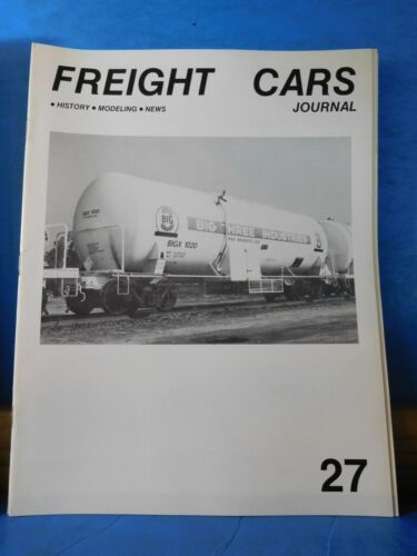 Freight Cars Journal #27 ATSF Missouri Pacific Tank car
