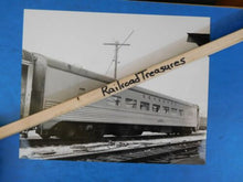 Photo Seaboard Air Line Coach #5257 8X10 B&W Jacksonville FL 1969
