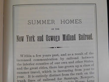O&W Observer 1994 Jan-April Summer Homes on the Midland for NY Business Men