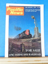 Pacific News #171 1976 January Commuter Railroad for sale Freedom Train Amtrak