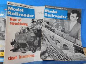 Model Railroader Magazine Complete Year 1962 12 issues