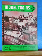 Model Trains 1953 April HO Scale Narrow gauge stock car Trackside structures
