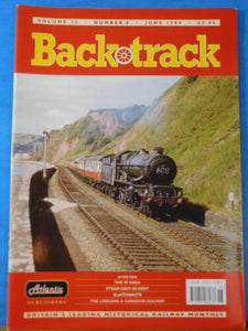 Back Track Magazine 1999 June Britain Railway History 4F Saga Slaithwaite