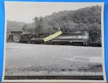 Photo Wheeling & Lake Locomotive #2662, 2651, 2653 W&LE Summer 1947 8x10