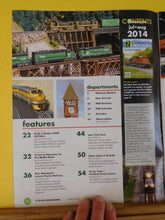N Scale Railroading #84 2014 July Aug Kato's BNSF SD70Ace Joe's tree farms