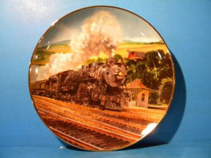 Great American Train Series Black Hawk Limited by Jim Deneen Plate #E2147