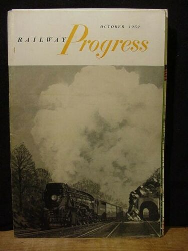 Railway Progress 1952 October 1952 Railroading behind the bamboo curtain