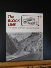 Block Line NRHS 1979 Oct Flemington to Wycombe White River Limited Excursion