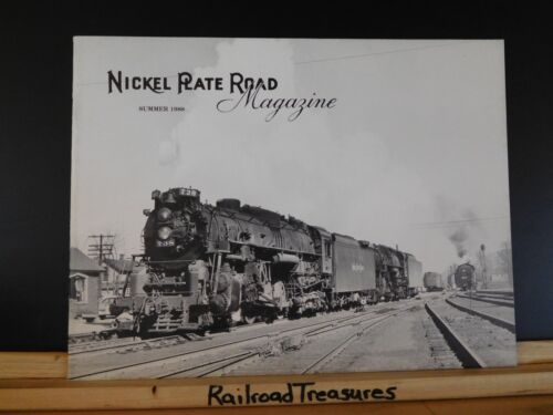 Nickel Plate Road Magazine 1988 Summer Ask The Man Who Drove One