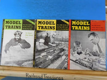 Model Trains Complete Year 1954 11 Issues No Feb