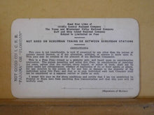 Pass Illinois Central System 1935 Veteran's Service Pass #V933