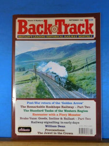Back Track Magazine 1996 Sept Britain Railway History