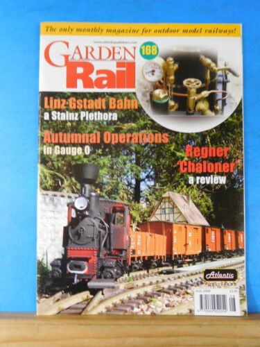 Garden Rail #168 Autumnal Operations in O Gauge Merchant's warehouse Radio contr