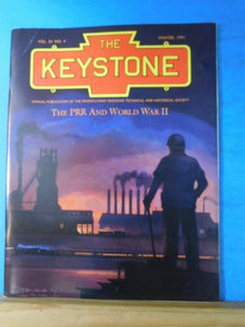 Keystone PRR T&HS Magazine 1991 Winter World War II and the PRR