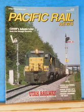 Pacific Rail News #353 1993 April C&NW Adams Line Dunsmuirs CA SP Gregory switch