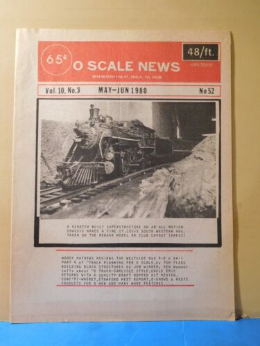 O Scale News #52 1980 May June The Westside B&O P-7