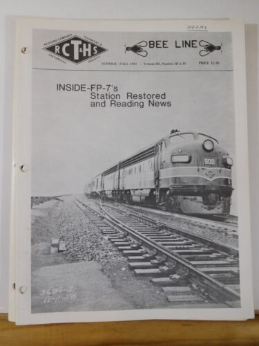 Bee Line Reading Co Historical Society 1981 Summer / Fall V3#3/4 FP-7s