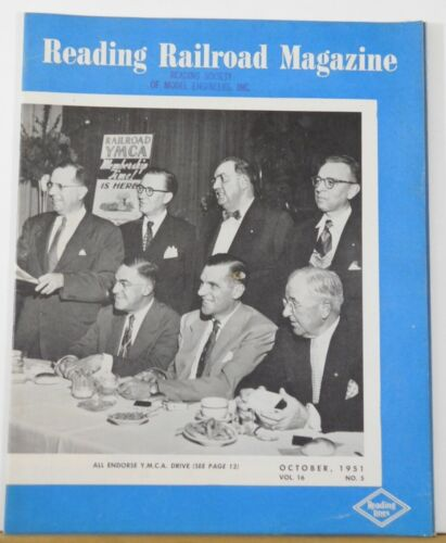 Reading Railroad Magazine Employee 1951 October Adding to Home Beauty