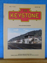 Keystone PRR T&HS Magazine 1984 Winter The Eastern Division Hump trimmer
