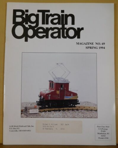Big Train Operator #69 1994 Spring Playmobil Collectability