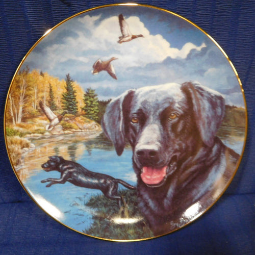 Town and Country Dog Series The Retrieval by Sy Barlowe Reco International