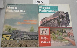 Model Railroader Magazine Complete Year 1965 12 issues
