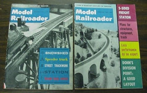 Model Railroader Magazine Complete Year 1963 12 issues