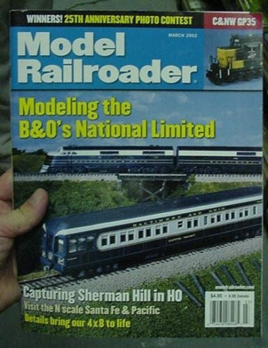 Model Railroader Magazine Complete Year 2002 12 issues