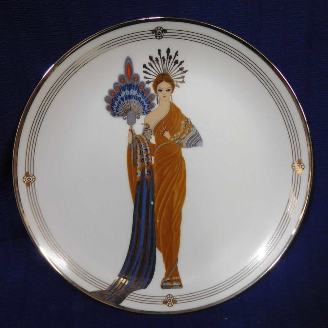 Athena House of Erte Sevenarts Fine Porcelain The Franklin Mint