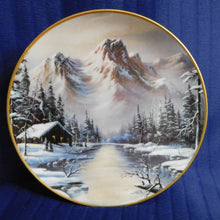 Peaceful Solitude by Ron Huff Franklin Mint Heirloom Collection