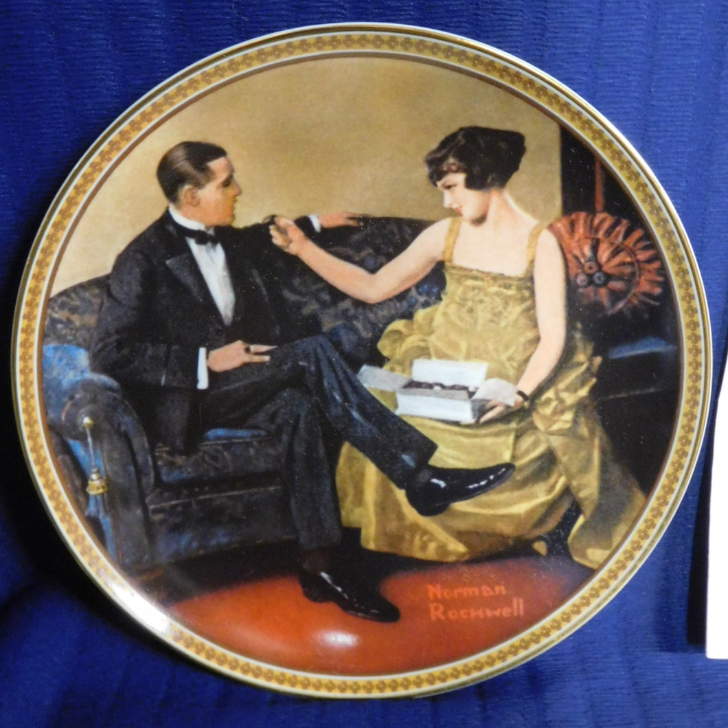Norman Rockwell Flirting in the Parlor Rockwell's Rediscovered Women
