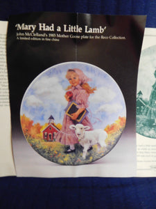 Mother Goose Mary Had a Little Lamb by John McClelland
