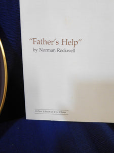 Norman Rockwell Father's Help Rockwell's Light Campaign