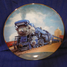 The Golden Age of American Railroads The Blue Comet by Ted Xaras The Hamilton Collection