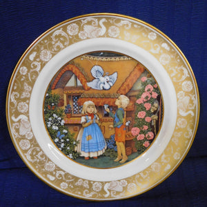 Grimm's Fairy Tales Hansel and Gretel Franklin Porcelain 1978