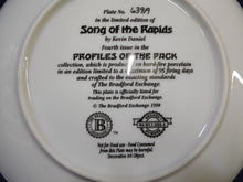 Profiles of the Pack Song of the Rapids by Kevin Daniel The Bradford Exchange