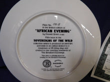Sovereigns of the World African Evening by Donald Grant The Bradford Exchange