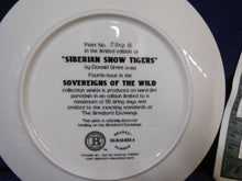 Sovereigns of the World Siberian Snow Tigers by Donald Grant The Bradford Exchange